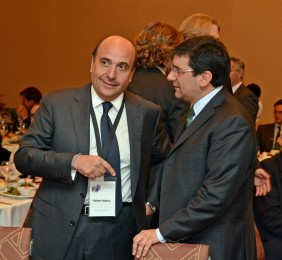 Rafael Mateo junto a Pablo Badenier