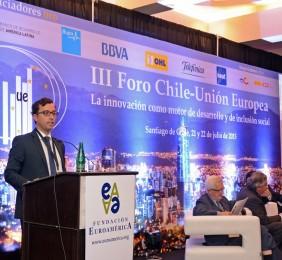 Vicente Mira durante su intervención
