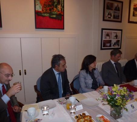 Fernando González,Luis Fernando Álvarez-Gascón, Esther Gómez Vidal, y José Ignacio Salafranca