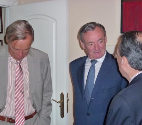 Carsten Moser, Juan Socías y Jorge Salaverry