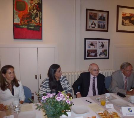 Patricia Alfayate, María Lahore, Francisco J. Ferrándiz, y Carsten Moser