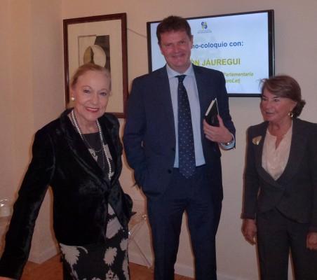 Benita Ferrero-Waldner Vicente Mohedano y Luisa Peña