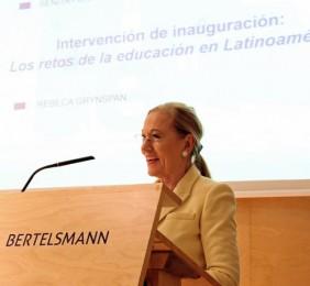 La Presidenta de la Fundación Euroamérica, Benita Ferrero-Waldner
