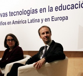 Rebeca Grynspan, Secretaria General Iberoamericana  y Marc Puškarić, Director General de Bertelsmann Brasil