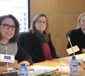 Rebeca Grynspan, Aránzazu Beristain, Benita Ferrero-Waldner