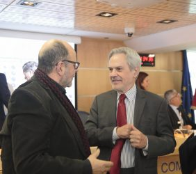 Alberto García Ferrer y  Paulo Speller