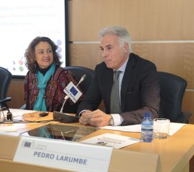 Carmen Beatriz López-Portillo y Pedro Larumbe