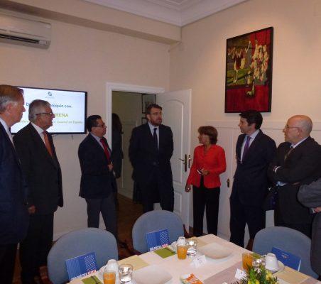 Carsten Moser, Fernando Labrada, Enrique Vargas, Daniel Ureña, Luisa Peña, Rafael Hoyuela y Francisco Galindo