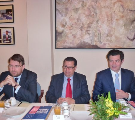 Daniel Ureña, Enrique Vargas y Matín Ortega Carcelén