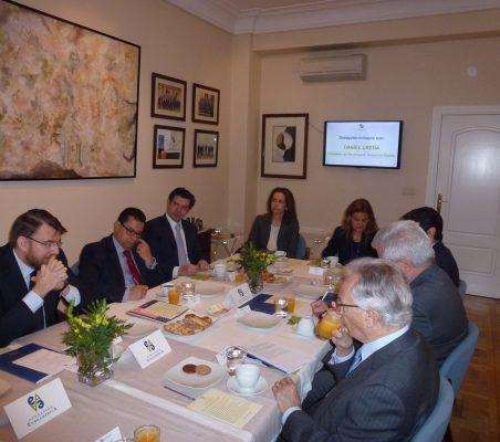 Daniel Ureña, Enrique Vargas, Martin Ortega Carcelén, Patricia Alfayate y  Renata Dutra