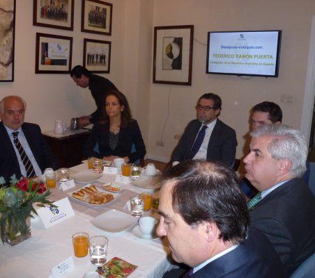 Eduardo Michel, Patricia Alfayate, Javier de Cos y Gonzalo Babé