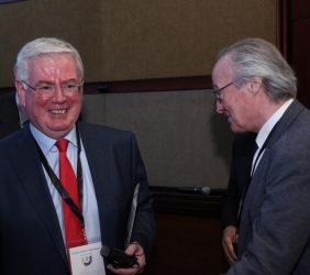 Eamon Gilmore, Enviado especial de la Unión Europea para el proceso de Paz en Colombia y Josep Piqué