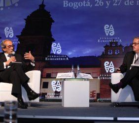 José Manuel González-Páramo, BBVA y Gerardo Hernández, Superintendente Financiero de Colombia