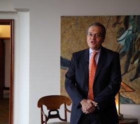 Fernando Carrillo, ex Embajador de Colombia en España y ex Ministro de Justicia, y de Interior, Colombia