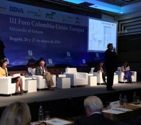 Ministro Jorge Eduardo Rojas, Carolina España, Josep Piqué, Pedro José Collado, Diana María Espinosa