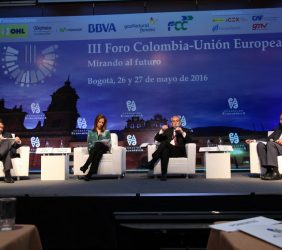 Carlos Vogeler, María Claudia Lacouture, Ramón Jáuregui, Carsten Moser