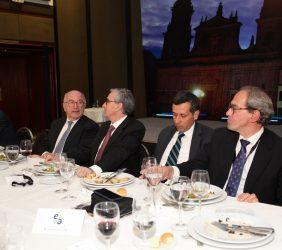 Joaquín Almunia, Ramón Jáuregui, Francisco Javier Echeverri, José Manuel González-Páramo