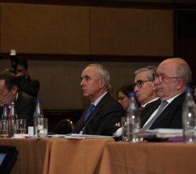 Emilio Cassinello, Pablo Gómez de Olea, Ramón Jáuregui, Joaquín Almunia
