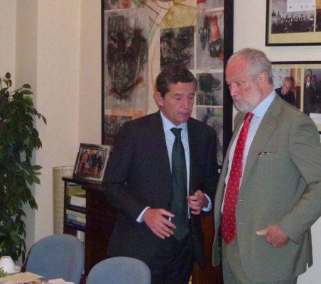 Mario Armero y  José Luis López-Schümmer