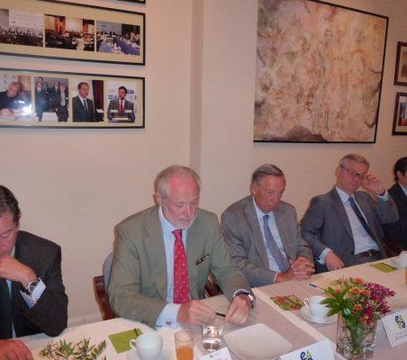 Mario Armero, José Luis López-Schümmer, Carsten Moser, Eduardo Henriques y Rafael Hoyuela