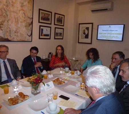 Eduardo Hernriques, Rafael Hoyuela, Patricia Alfayate, Isaura Portillo, Justo Varona y Luis Fernando Álvarez-Gascón