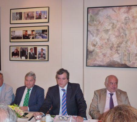 Carsten Moser, Fernando Burgaz, Mané Calvo y Eduado José Michel