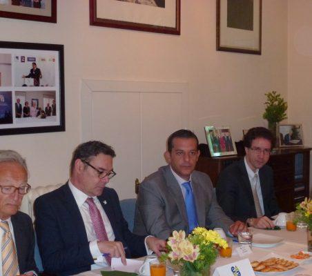 Ángel Durández, Juan Manuel Uribe, Ignacio Gutiérrez y  Davi Pinto