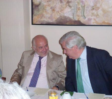 Eduardo José Michel y Gonzalo Babé