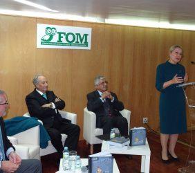 Fernando R. Lafuente, Juan Miguel Villar Mir, Fernando Labrada, Benita Ferrero-Waldner