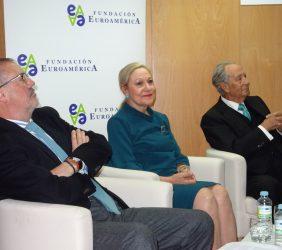 Fernando R. Lafuente, Benita Ferrero-Waldner, Juan Miguel Villar Mir
