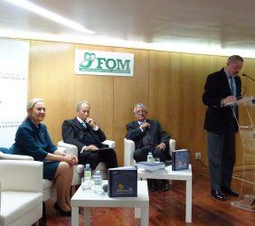 Benita Ferrero-Waldner, Juan Miguel Villar Mir, Fernando Labrada, Fernando R. Lafuente