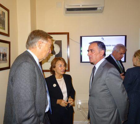 Carsten Moser, Luisa Peña y Justo Varona