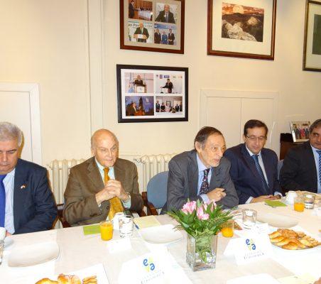 Gonzalo Babé, Antonio de Oyarzábal, Emilio Cassinello, Miguel Arroyos y Luis Fernando Álvarez-Gascón