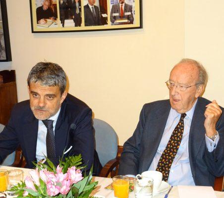 Jaime Malet y Carlos Westendorp