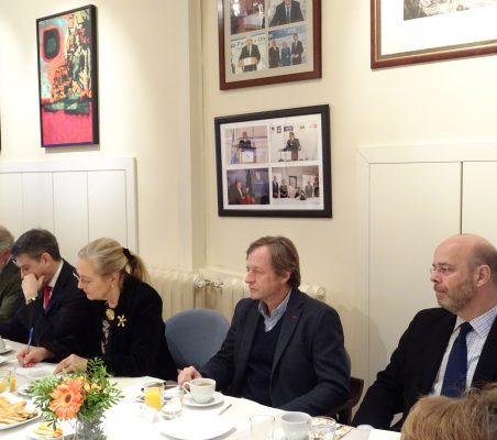 José Luis López Schümmer, Miguel Jurado, Benita Ferrero-Waldner, Adolfo Tamames Gonzalo de Castro