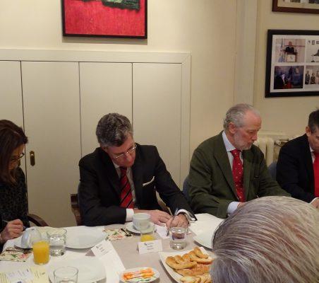 Isabel Tovar, Claudio Vallejo, José Luis López Schümmer y Miguel Jurado