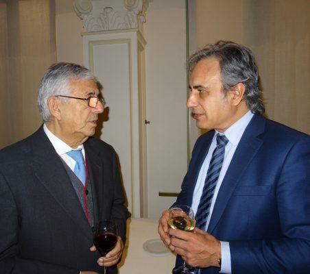 Fernando Labrada, Presidente MRC, y Luis Fernando Álvarez-Gascón, Director General, en GMV