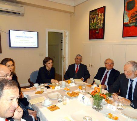 Natalia Moreno, Fernando Labrada, Almerino Furlan y José Luis López-Schümmer