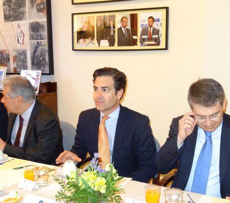 Germán Ríos, Pablo Zalba y Miguel Jurado