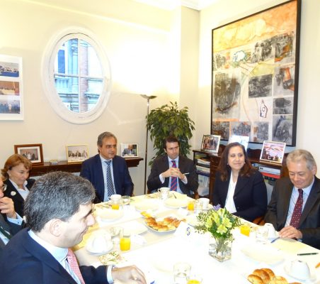 Luisa Peña, Luis Fernando Álvarez-Gascón, Rafael Hoyuela, Marisa del Río y Germán Ríos