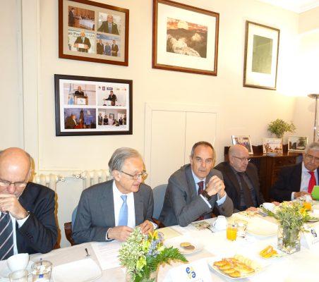 Juan Miguel Márquez, Ángel Durández, Rodrigo Menéndez Peñalosa, Francisco Galindo y Fernando Labrada