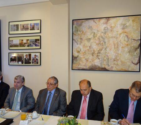 Tomás Morín, Mario Buisán, Jorge Alberto Palencia, Rafael Sánchez Jiménez y Daniel García Urosa