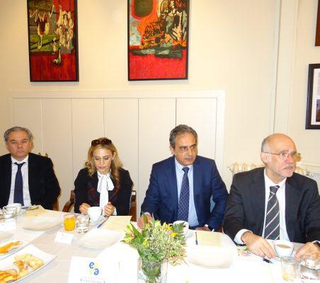 Jesús Prieto, Anabella Machuca, Luis Fernando Álvarez-Gascón y Juan Miguel Márquez
