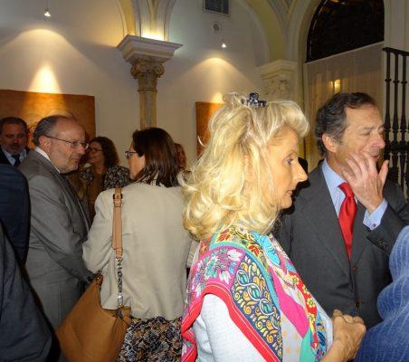Isabel Tocino, Consejera externa de Banco Santander, y Borja Baselga, Director de la Fundación Banco Santander