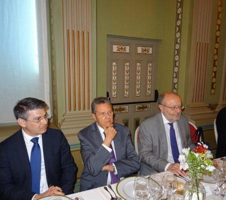 Miguel Jurado, Norman García Paz, Fernando García Casas,