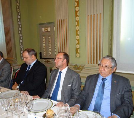Fernando García Casas; Eugenio Martínez Enríquez, Embajador de Cuba; Felix Losada, Deloitte, y Jorge Alberto Palencia, Embajador de El Salvador