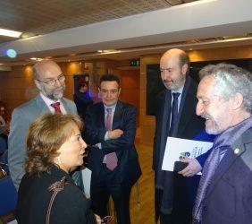 Luisa Peña, Carlos Augusto Abicalil, Félix García Lausín, Alberto Ruiz Jimeno