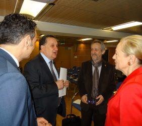 Piero Venturi, José Manuel Silva, Alberto Ruiz Jimeno, Benita Ferrero-Waldner
