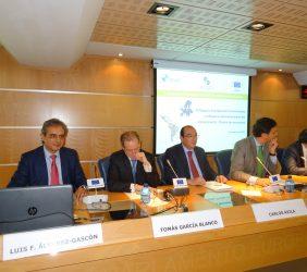 Luis Fernando Álvarez-Gascón, Tomás García Blanco, Carlos Ávila, Francisco Javier Garzón, José Aravena,