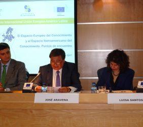 Francisco Javier Garzón, José Aravena, Luisa Santos